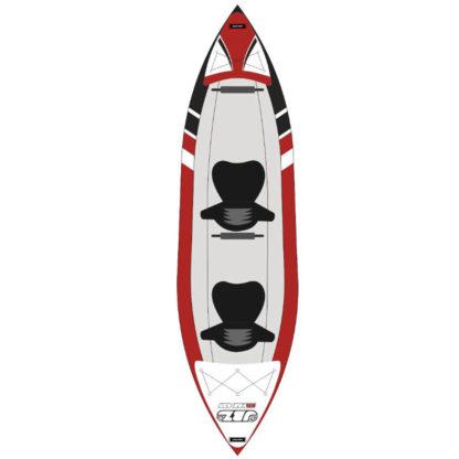 Kayak Gonfiabile Jbay Zone 425