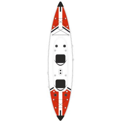 Jbay Zone V-Shape Duo Kayak Gonfiabile