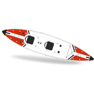Kayak Jbay Zone V-shape-Duo