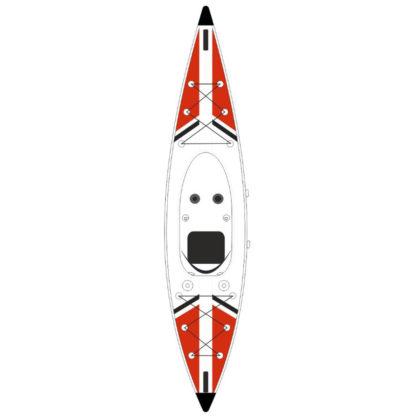 Kayak Jbay Zone V-shape-Mono